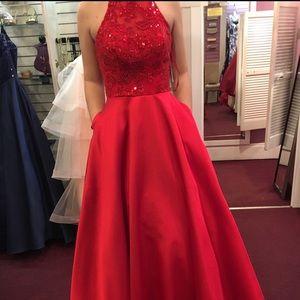 Stunning Red Prom Dress